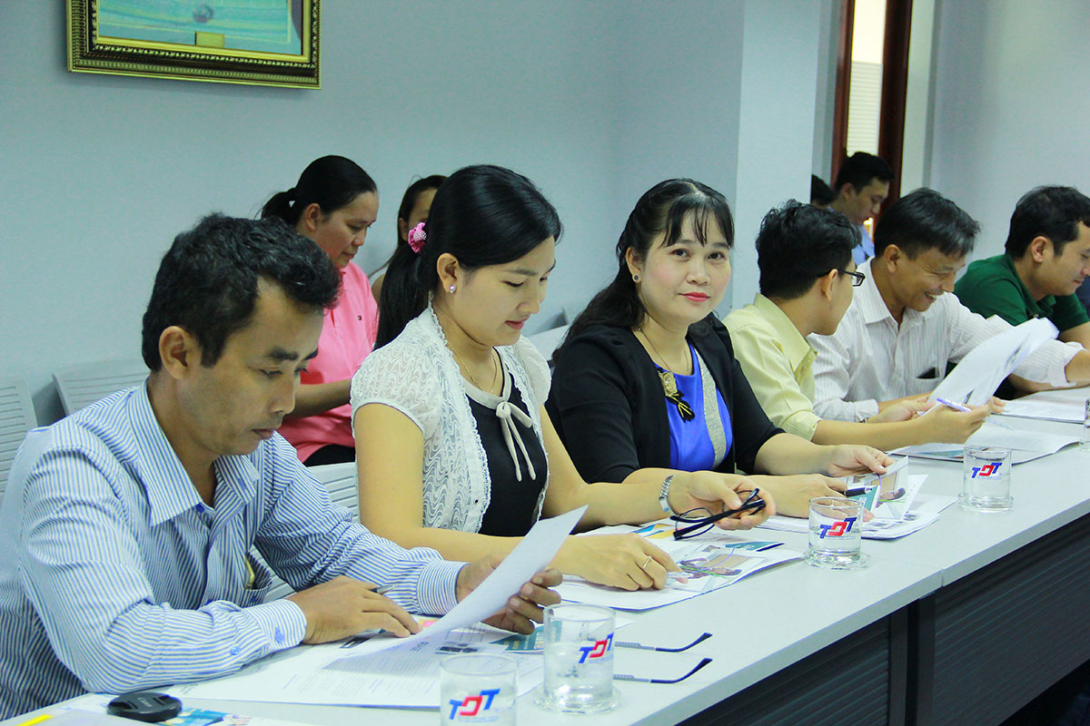 Representatives of An Giang University at the workshop