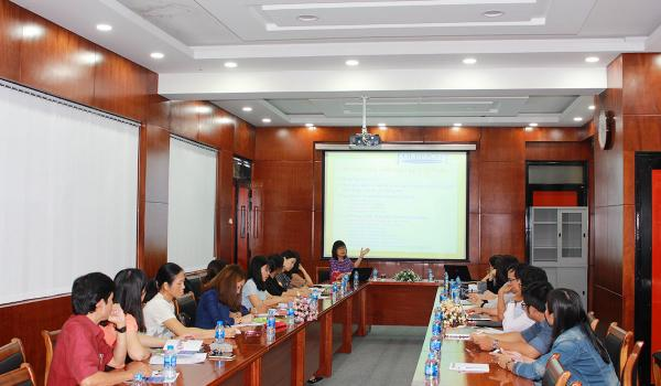 The meeting about Fulbright Scholar program