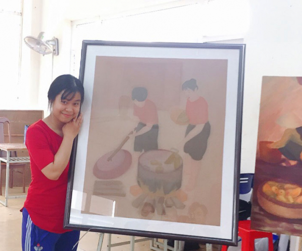 AGU students won awards at Student Art Exhibition